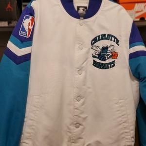 Vintage Starter Black Label Hornets Jacket